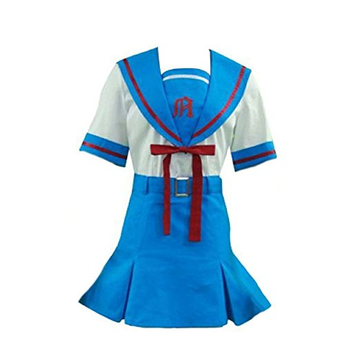 Smile Style Haruhi Suzumiya Cosplay Costume Yuki Nagato School Uniform For (Yuki Nagato Cosplay Costume)