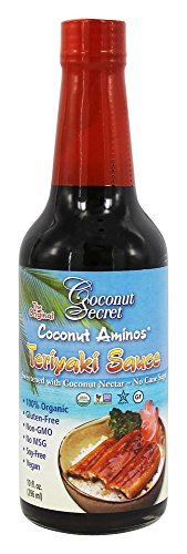 Coconut Secret Aminos Teriyaki Sauce, 10 Ounce