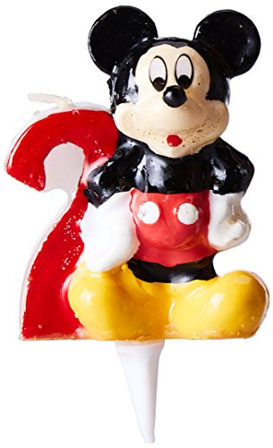 Dekoback 02-08-00088 'Minnie Mouse with Number 2' Cake -