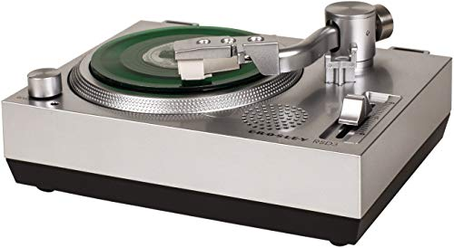 Crosley RSD3 Mini Turntable for 3-inch Vinyl Records, Silver