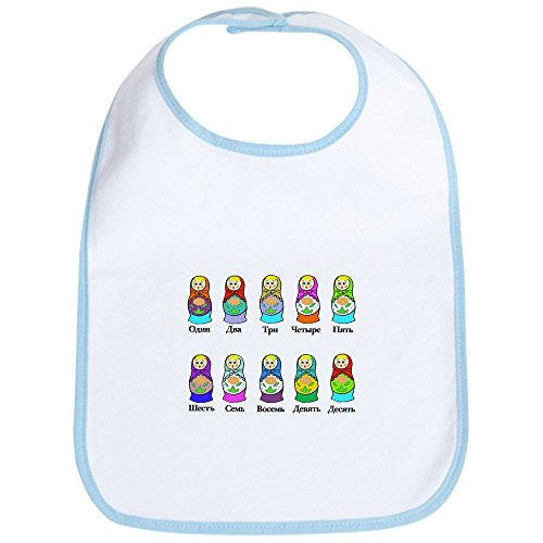 CafePress Nesting Dolls Bib Cute Cloth Baby Bib, Toddler Bib