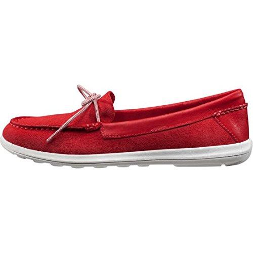 Helly Hansen W Faerder Deck, Zapatillas de Vela para Mujer Rojo (Red)