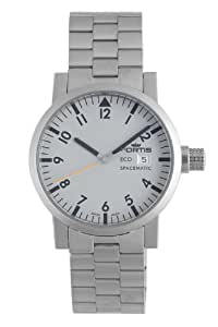 Fortis Men's 626.22.12 M Spacematic Eco Gray Stainless Steel Watch