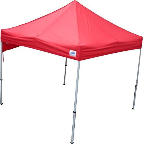 イベント用テント 3x3m角サイズ クイックルーフNOVA(ノヴァ)30 B01N8VJ9EH  レッド