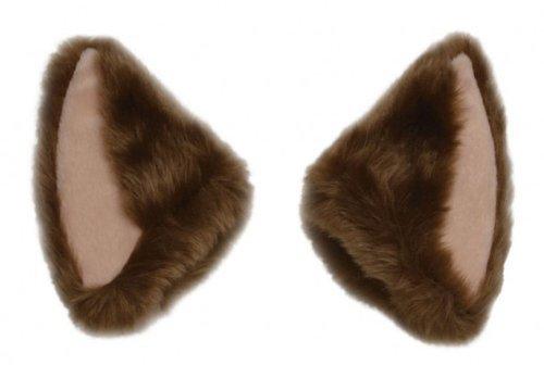 [Necomimi Brown Ears] (Brown Cat Ears)