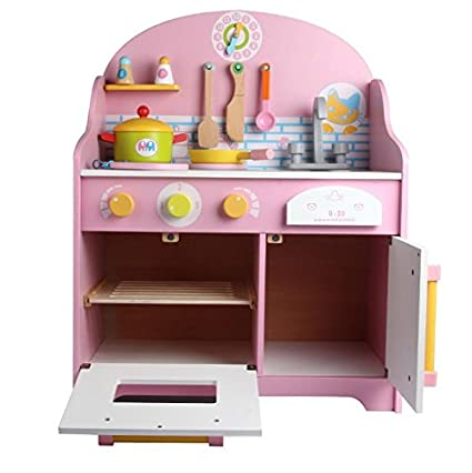 Amazon.com: Japanese Kitchen Kids Pretend Play Wooden Toy ...