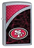 Latest 2016 Style Personalized Zippo Lighter NFL - Free Laser Engraving … (SAN FRANCISCO 49ERS)