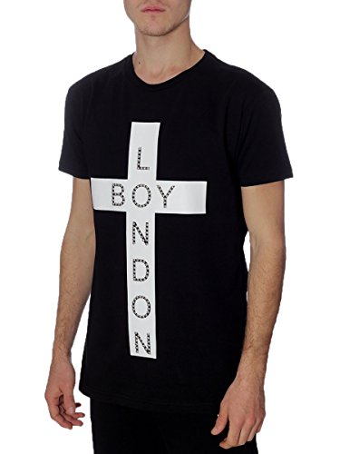 T-shirt Donna Boy London L Nero Bl613 1/7 Primavera Estate 2017