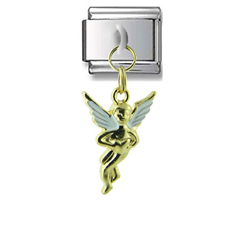 Dangle Gold Angel Italian charm