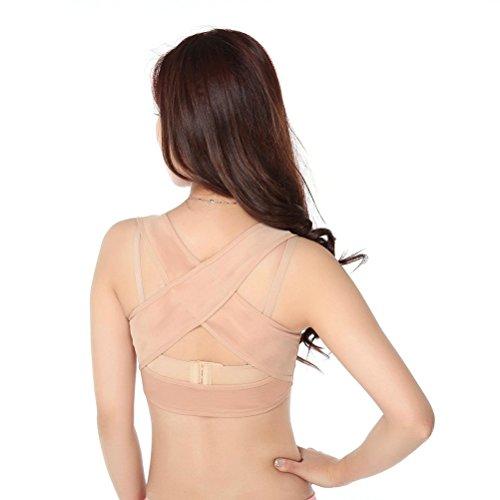 ULTNICE Back Posture Corrector Adjustable Women Figure Back Posture Corrector Bra Support  - Size (Back Support Bra)