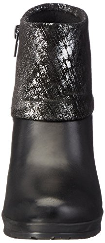 Tamaris Ankle Boots Metallic 033 black 25460 Black Women's 7awgPqp
