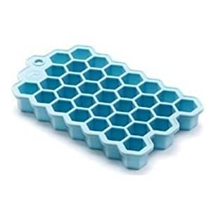 Outset Hex Ice Cube / Chocolate Mould Silicone Tray - Small Hexagonal Cubes