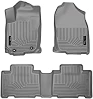 Husky Liners 98972 WeatherBeater Grey Front and 2nd Seat Floor Liner