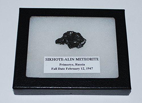 RUSSIAN SIKHOTE-ALIN METEORITE 14.7 grams with Display Box MDB 12o
