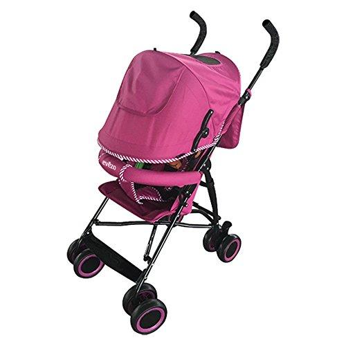 Evezo Lightweight Stroller Sander, Pink