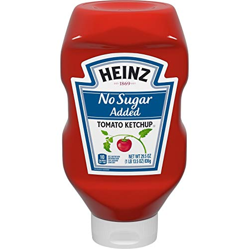 Heinz No Sugar Added Tomato Ketchup 29.5oz (1 PACK)