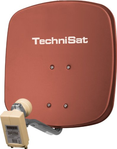 SAT Antennen sind sogar in unterschiedlichen Farben erhältlich.
