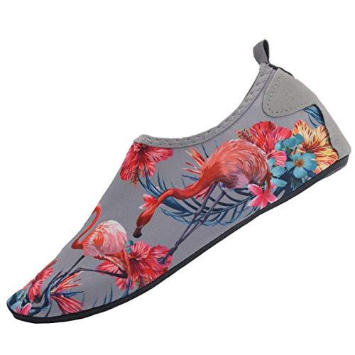 In Scarpe Casa Uomini Da Barefoot E Surf Snorkeling grigio Corsa Neopre Con Suole Yoga Spiaggia Mare Per Ao Donne Spugna Scoglio Immersione Pantofole 77gwqnrU