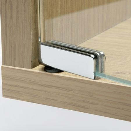 Handles U0026 Ironmongery Polished Chrome 110º Glass Door Hinges For  Flush Fitting Doors ,Tv
