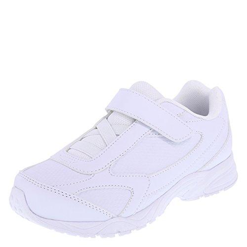 SmartFit Boys' White Boys' Hutch Strap Sneaker 13.5 Wide Hutch Combination