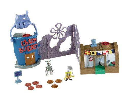 Fisher-Price Nickelodeon Imaginext Krusty Krab Playset ()