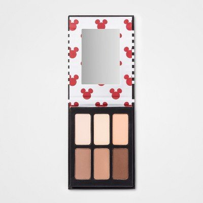 (Tri-coastal Design Disney Mickey Mouse & Friends Mickey Highlight and Bronzer Face Palette - 0.42oz)