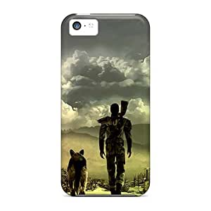 Anti-Scratch Hard Phone Covers For Iphone 5c (TLb16255kYbG) Customized Vivid Machine Head Band Pictures