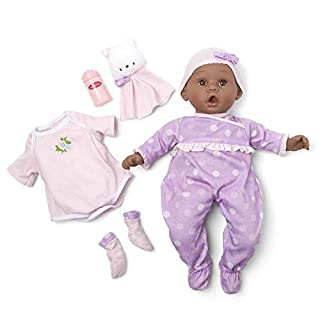 "Madame Alexander 16"" Lavender Amazon Exclusive Baby Doll, Essentials Set"