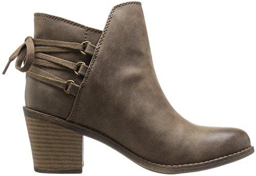 Women's Ankle Bootie Boot Dulce Roxy Brown fwqHPw