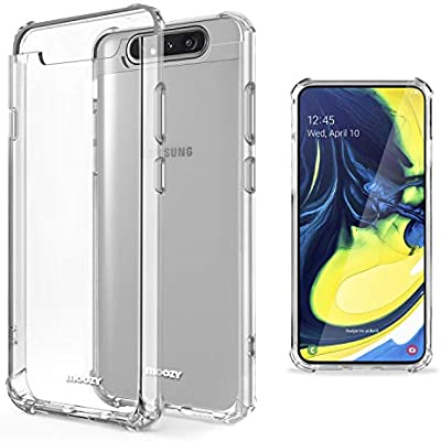 Moozy Funda Silicona Antigolpes para Samsung A80, Galaxy A80 ...