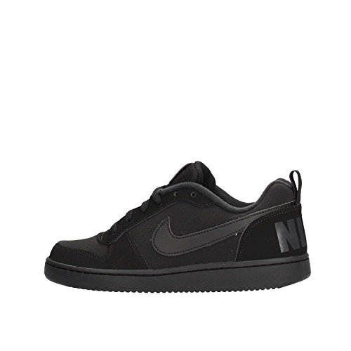 Nike Court Borough Low (GS), Zapatillas de Baloncesto Unisex Niños Black