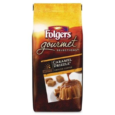 FOL20145 – Folgers Caramel Drizzle Gourmet Ground Coffee Ground