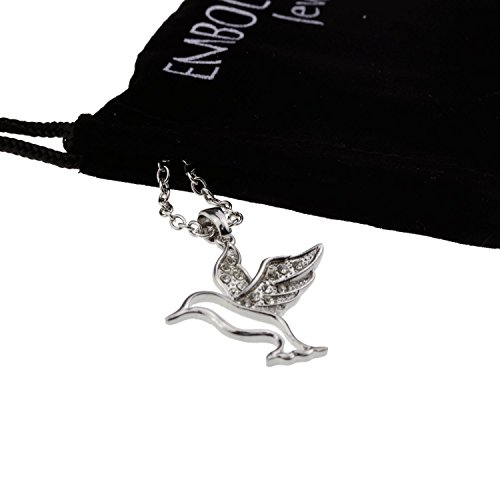 silver-iced-out-crystal-paved-hummingbird-pendant-mood-necklace-fashion-jewelry-gift-for-women-teen-