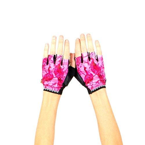 (Shebeest 2018 Women's La Toile Short Finger Cycling Glove - 3660-LT (La Toile-Multi - SM))