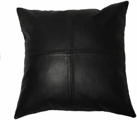 Deluxe Pillows Leather Pillow 18 x 18