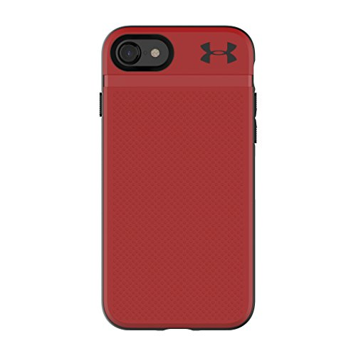 Under Armour UA Protect Stash Case for iPhone 8 & iPhone 7 - Red/Black