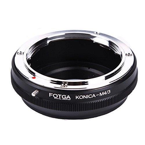 Fotga Lens Mount Adapter for Konica AR Mount Lens to Micro Four Thirds(M4/3/MFT) Mount Camera Olympus PEN E-PL1,E-PL2,E-M,OM-D,E-M5,E-M10 Mark II/III Panasonic Lumix GH1,GH2,GH3,GH4,GH5,GH5s (Konica Mount)