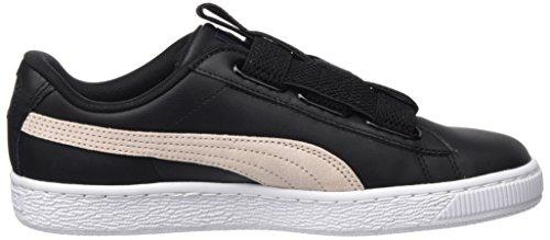 Wn's pearl Lea puma Puma Black Maze Mujer Basket Para Zapatillas Negro UqUxvtn6w