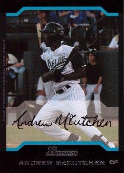 2004 Bowman AFLAC Baseball #AFL5 Andrew McCutchen Pre-Rookie Card