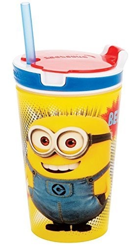 (Despicable Me 2 in 1 Snack & Drink Cup 12 oz color may vary)