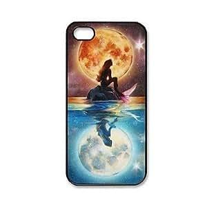 HP- Patrón de la sirena de plástico duro caso para iPhone 5/5S
