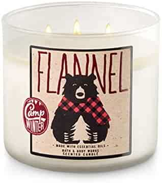Bath and Body Works 3-Wick Candle in Flannel