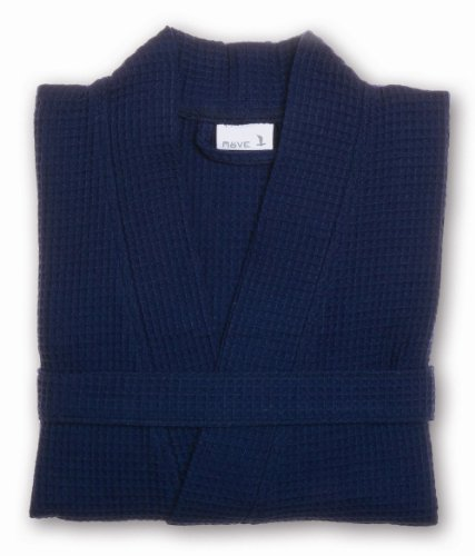 Möve 276120663596_S Homewear - Kimono (piqué, talla S), color azul