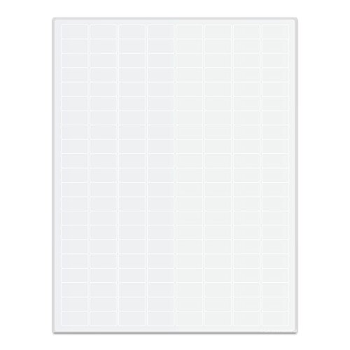 LabTAG LZP-12WH White Laser and Inkjet Permanent Paper Labels, 0.94'' x 0.5''/24 mm x 12.7 mm (Pack of 16800) by LabTAG