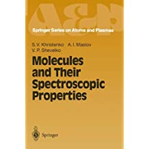 Molecules and Their Spectroscopic Properties