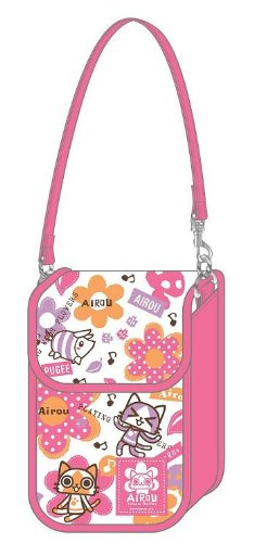 AIROU FlowerSeries Mobile Pouch White (japan import)