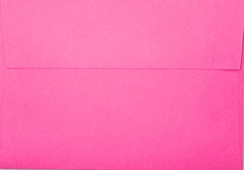 Pink Response Cards (A1 Envelopes - Hot Pink - 3 5/8 x 5 1/8 (for response cards) (pack of 100))
