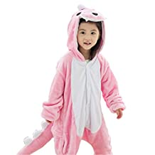 IFLIFE Kids Boy Girl Pajamas Onesie Cosplay Costume Animal Sleepwear