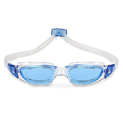 e669eb1f8bc Aqua Sphere Kameleon Swim Goggles with Blue Lens (Clear Blue). UV  Protection Anti