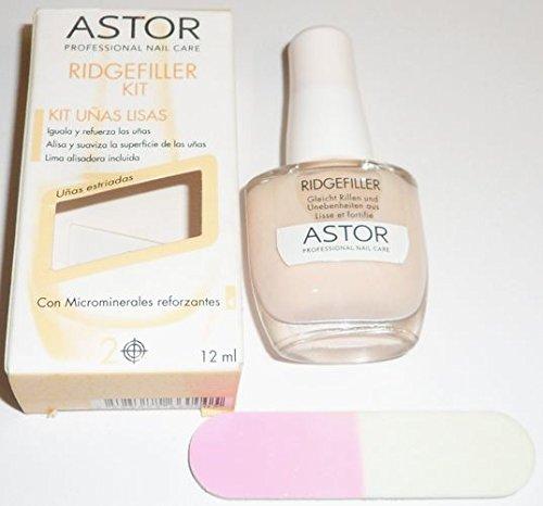 Astor Professional Nail Care Ridge Filler Kit 12ml